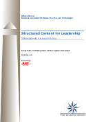 structured content for leadership cover
