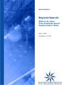 Beyond Search Report Cover