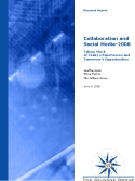 collaboration and social media report