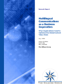Multilingual Communications Report cover