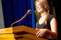 Female speaker for Gilbane Conference