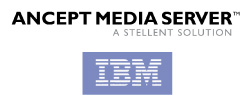 IBM Stellent Ancept Media Server logo