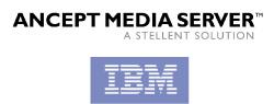 IBM Stellent Ancept Media Server logo