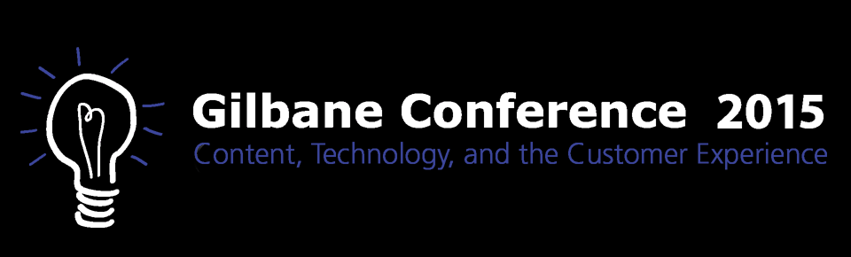 Gilbane Conference 2015 on content, technology, and customer experience