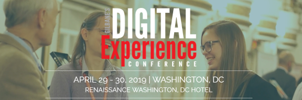 digital experience networking at Gilbane DX conference