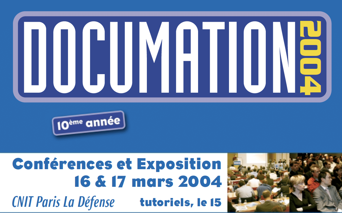 Documation Paris 2004 banner