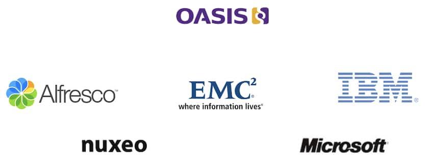 OASIS CMIS sponsors